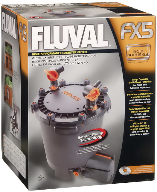 how to clean fluval fx5