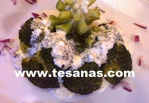 Brócoli con crema ligera
