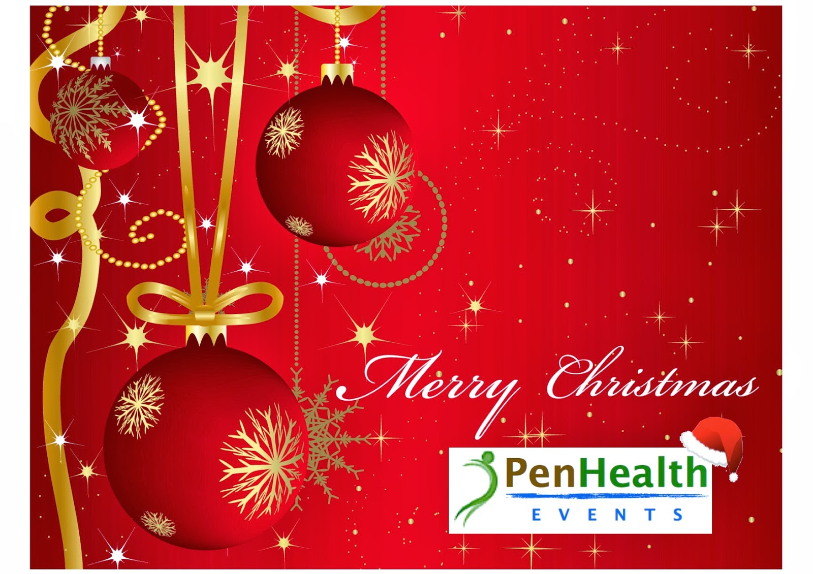 penhealth events management and staff would like to wish all our customers a merry christmas and a happy new year wishing you and your family have a