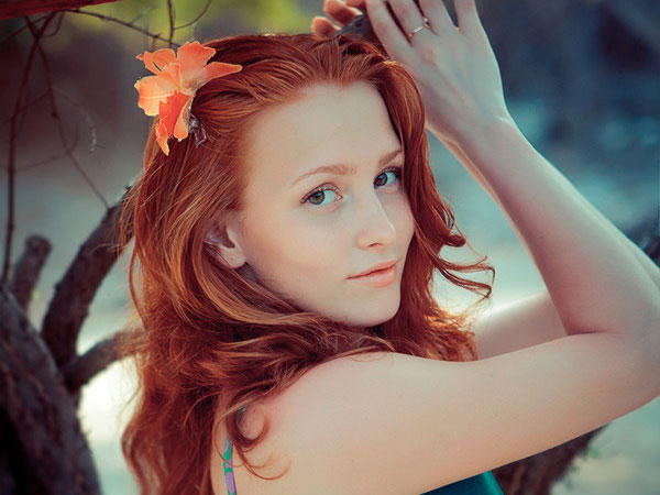 crazy hair styles blonde and red hairstyles