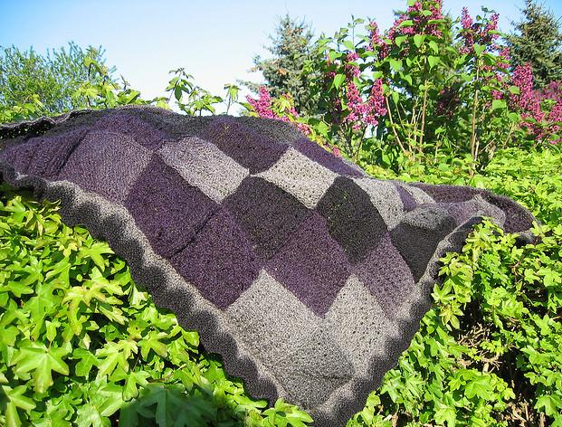 free entrelac shawl patterns, entrelac knitting