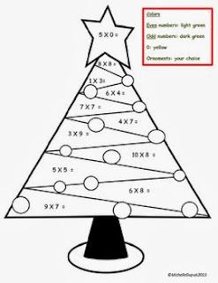 http://www.teacherspayteachers.com/Product/FREEBIE-Christmas-tree-multiplications-982131