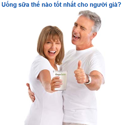 Anlenevn - How Best To Drink Milk For The Elderly