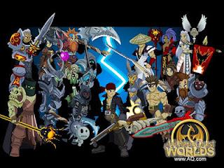 Game Adventure Quest World Online