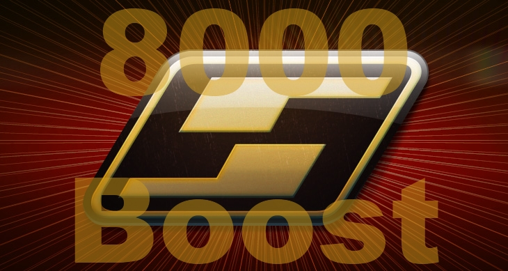 Surprise Win 8000 Boost for Need for Speed World