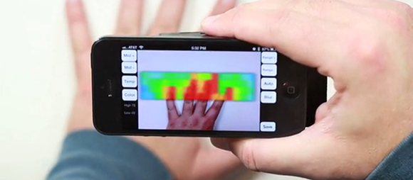 making your own thermal imaging camera with android or iphone