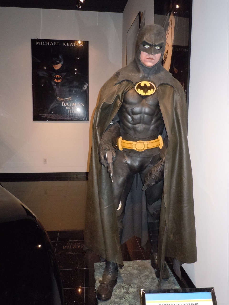 Michael Keaton Batsuit