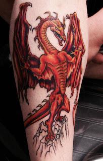 sexy dragon tattoos gallery