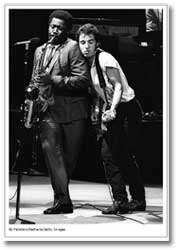 Springsteen and Clemons 1981