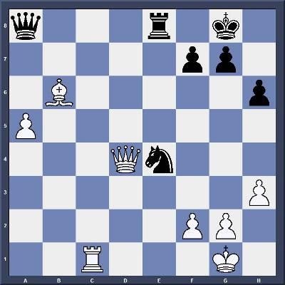Les Blancs jouent et gagnent en 3 coups