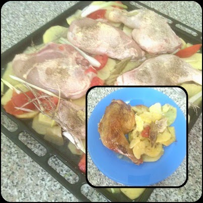 cuajadera de pollo