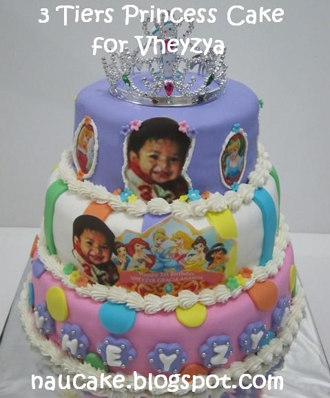 Tiers princess cake for vheyzya