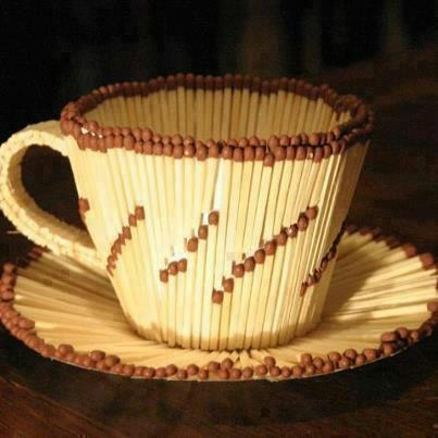 Amazing creativity awesome creativity from match sticks for Creative ideas out of waste