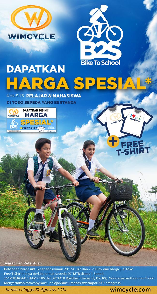Promo Sepeda Wimcycle Terbaru Mei-Agustus 2014