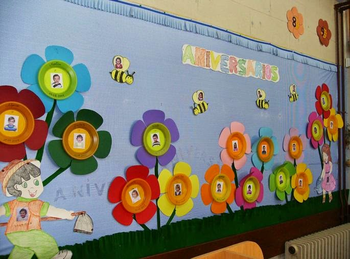 educador infantil en la red ideas para decorar el aula en