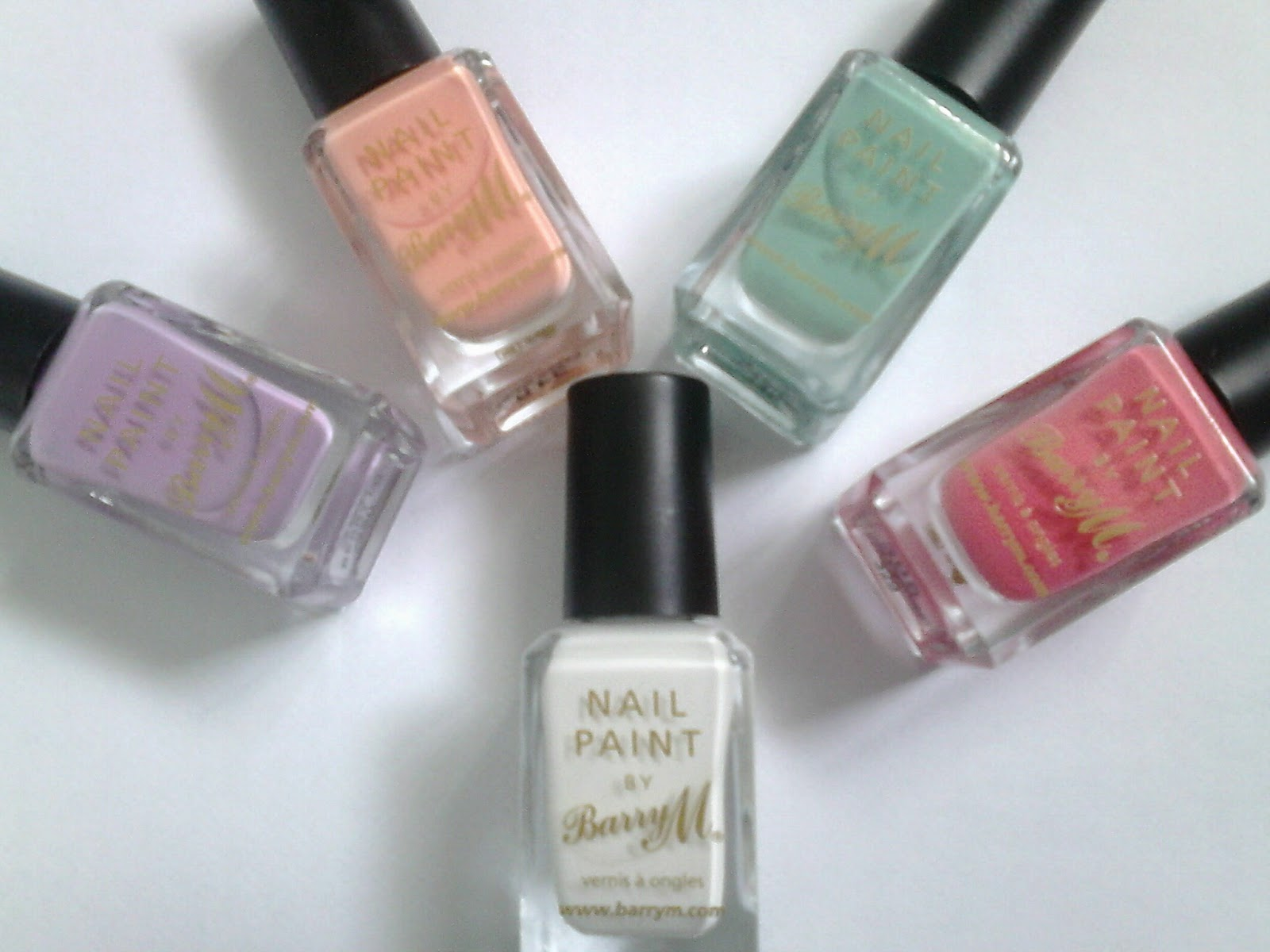 Barry M Nail Paint for Spring and Summer