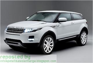 Harga Range Rover Evoque Mobil Terbaru 2012