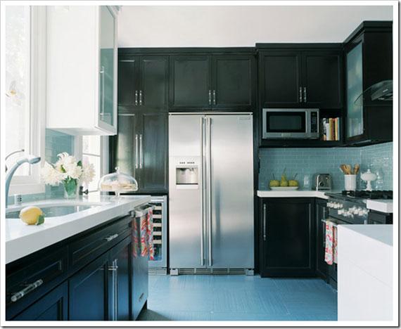 Colored Modern Small Kitchen Appliances ~ Bricolage e decoração ideias de design cozinhas