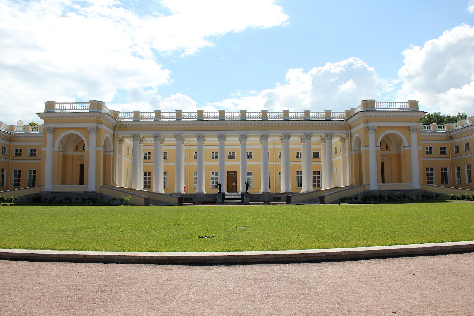Reeds Around the World: Tsarskoe Selo