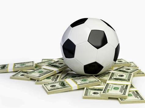 Ganhe dinheiro com o futebol