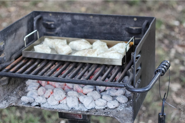 Chilean Sea Bass on the grill (c)nwafoodie