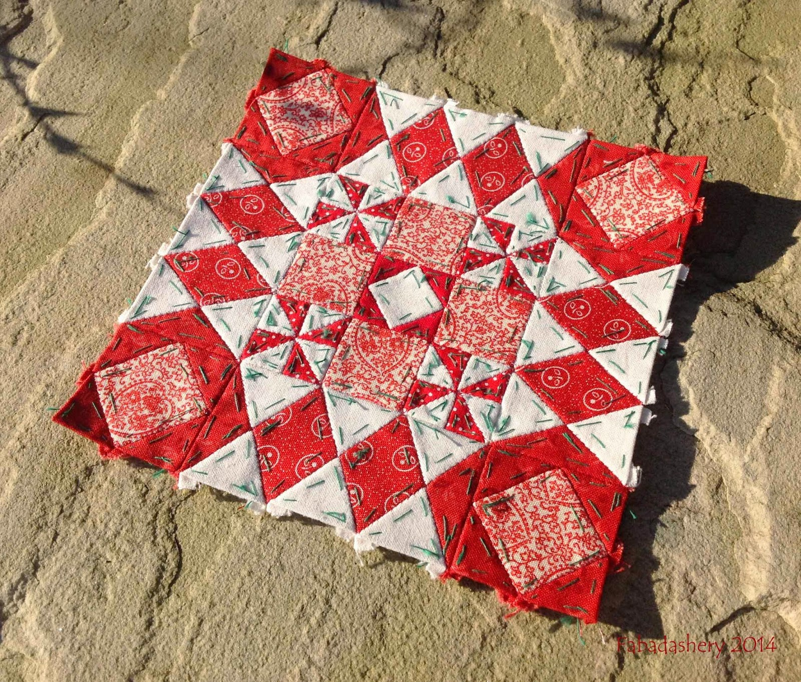Block 25 - Nearly Insane Quilt
