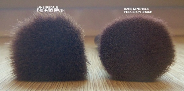 Bare Minerals Precision Brush vs Jane Iredale The Handi