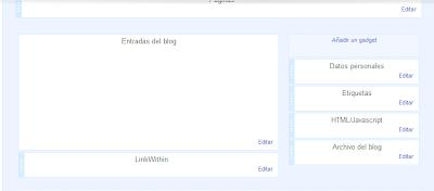 Diseño del blog en blogger