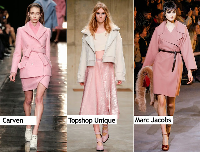 Pink Trend Fall 2013: Carven, Topshop Unique, Marc Jacobs