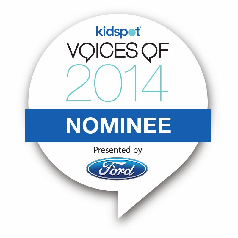 Nominee for 'Voices of 2014' Award
