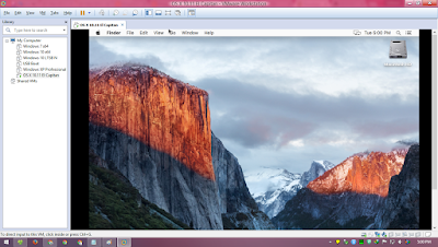 Desktop OS X El Capitan VMware Workstation