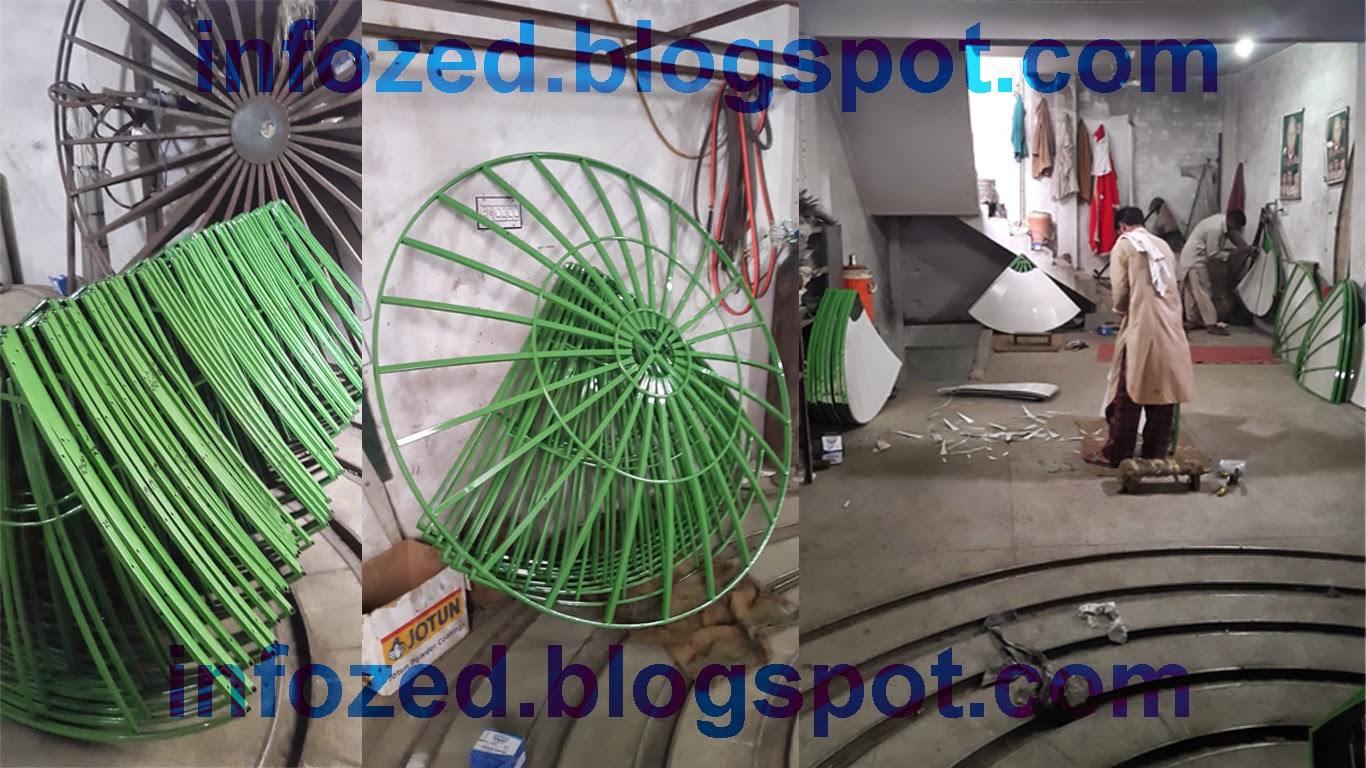 How to Make Dish Antenna at Large Scale as Home Business Shabbir Dish Antenna Rawalpindi Pakistan