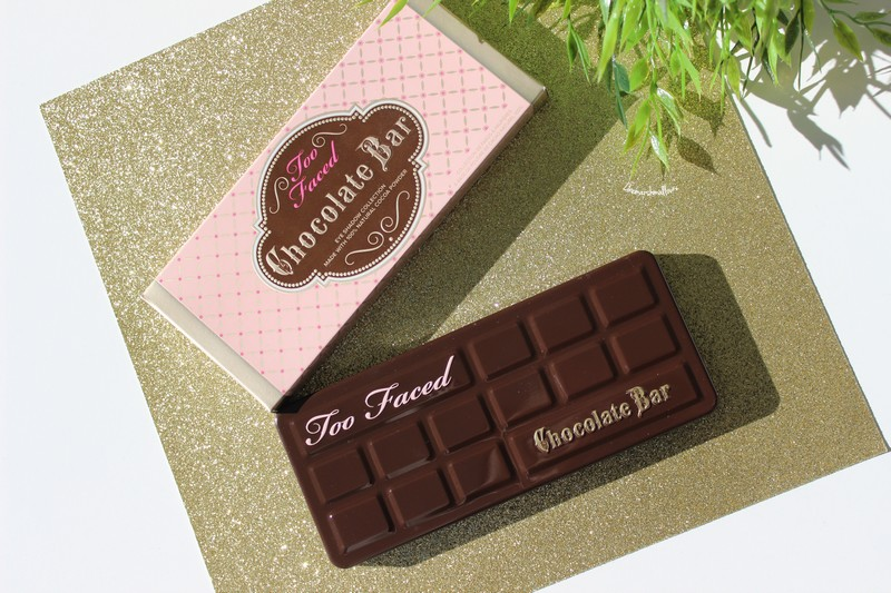 Une touche de gourmandise sur mes yeux : Chocolate bar – Too faced ♥