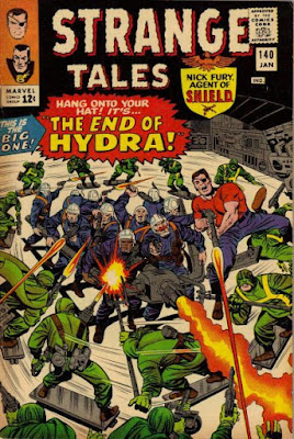 Strange Tales #140, SHIELD vs Hydra