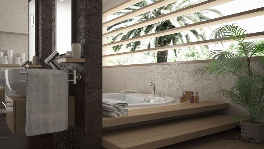 stile bagno - Bagni Moderni Con Vasca Idromassaggio