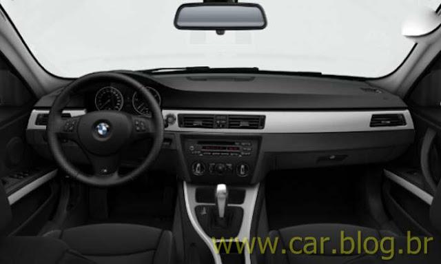 BMW 318i Sport - interior preto
