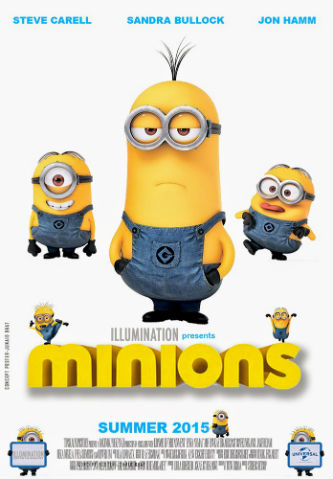 Minions 2015 HC HDRip 720p 550MB Subtitle Indonesia