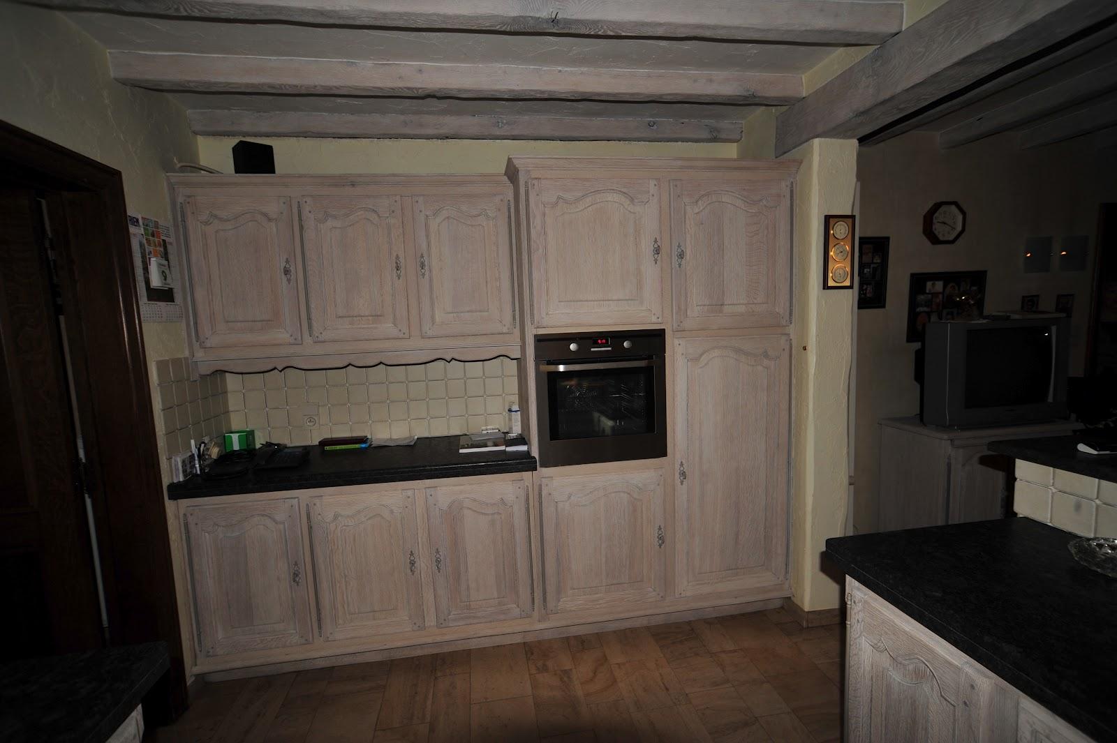 Eiken Keuken Beitsen : Renovatie van een keuken uit de jaren 70 Renovatie van