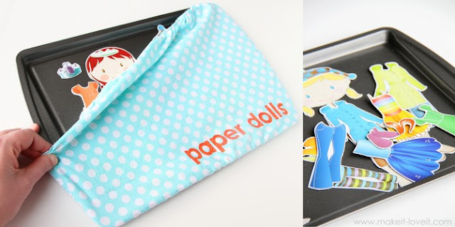 http://www.makeit-loveit.com/2011/12/make-your-own-magnetic-paper-dolls-and-fabric-cover-for-your-metal-base.html
