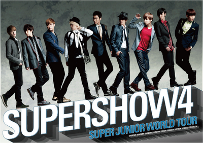 [Concert] Super Junior – Super Show 4 World Tour in Osaka Japan (on Fuji TV 120128)