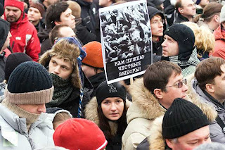 Anti putin Protests in Moscow
