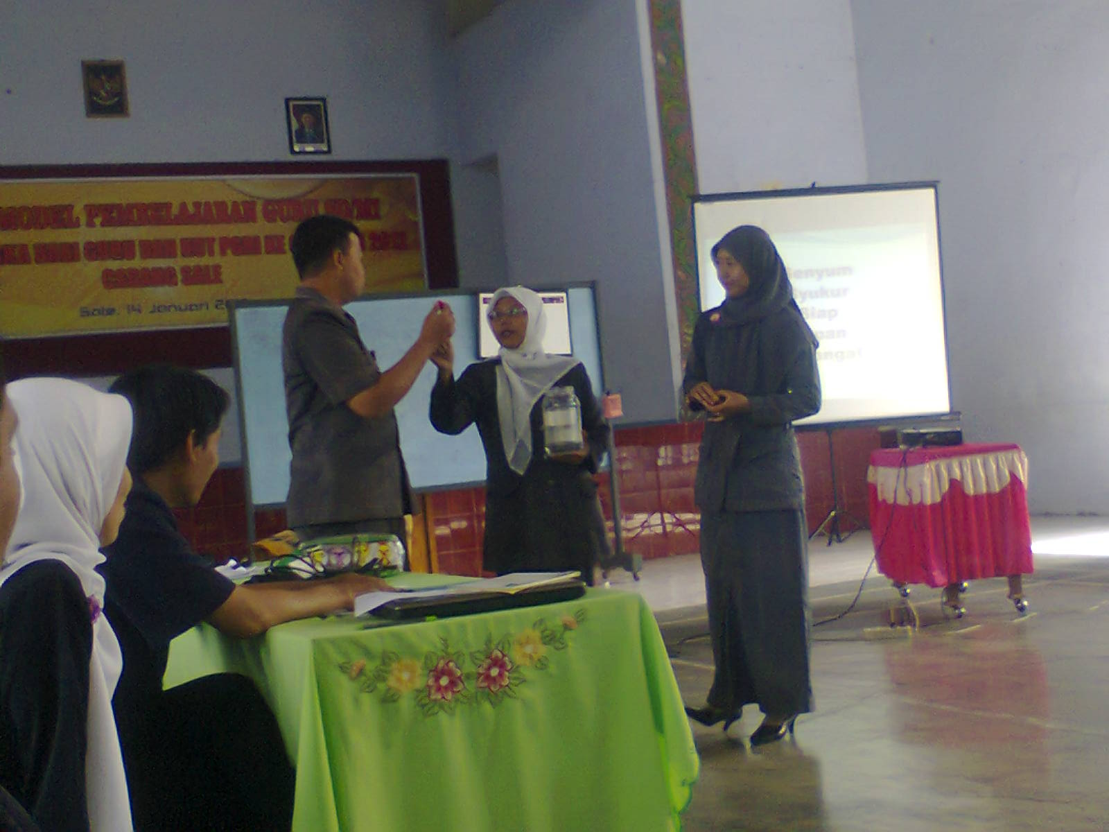 Peer Teaching hari PGRI Kec. Sale