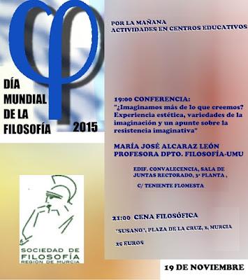 Día Mundial de la Filosofía 2015 en la UM