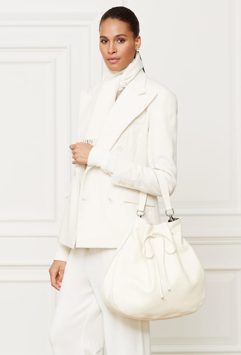 Fashion Model Ralph Lauren Fall 2014 Accessories