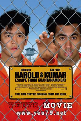 Harold và Kumar Tẩu Thoát Khỏi Vịnh Guantanamo