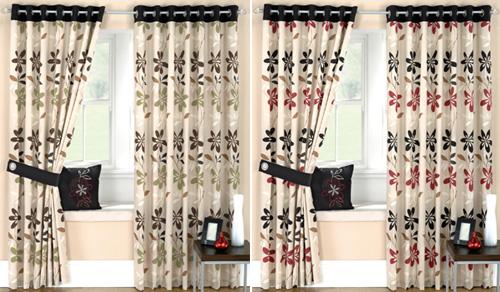 Tipos de telas de cortinas para el cuarto de ba o - Telas estampadas para cortinas ...