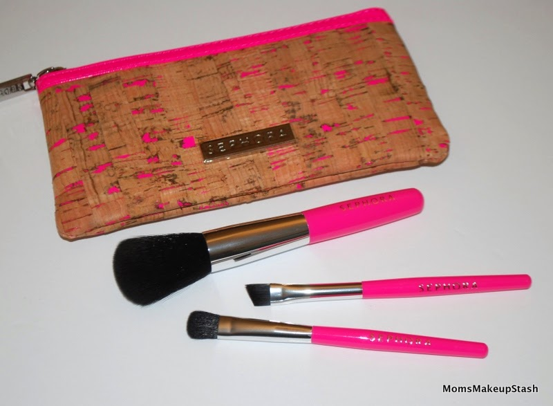 Sephora Collection, Sephora Review, Sephora Tools, Sephora Accessories, Makeup Brushes, Pocket Paradise Brush Clutch