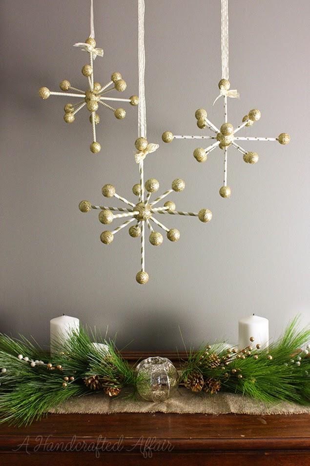 Purple Stars 8 034 Set of 3 Starburst Ornaments | eBay