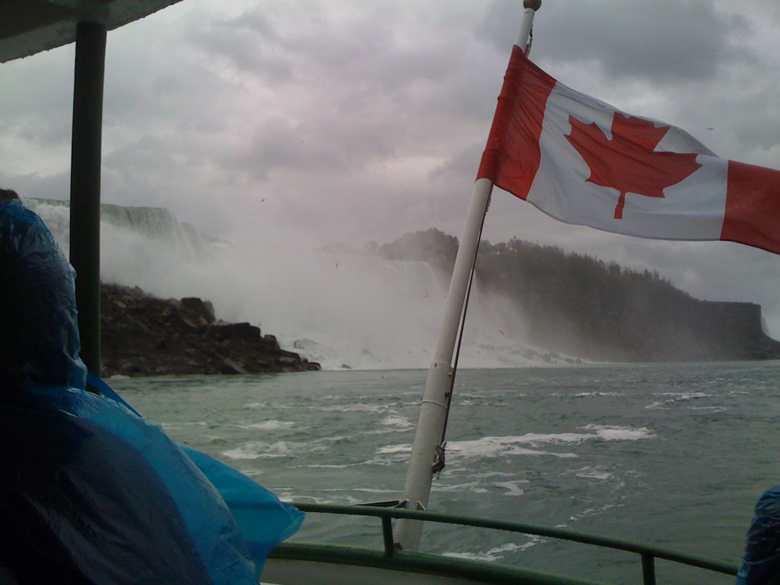 Niagara River after the falls