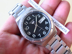 SEIKO 5 BLACK NUMERAL DIAL PART C - AUTOMATIC